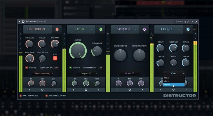 FL Studio Distructor Chorus