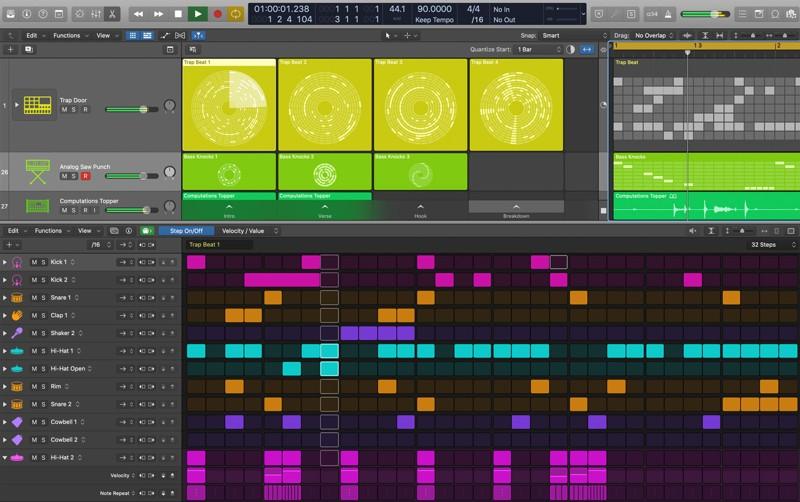 Logic Pro X 10.5 New Live Loops