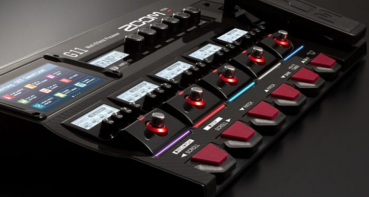 Zoom G11 - New Guitar Multi-Effects Processor