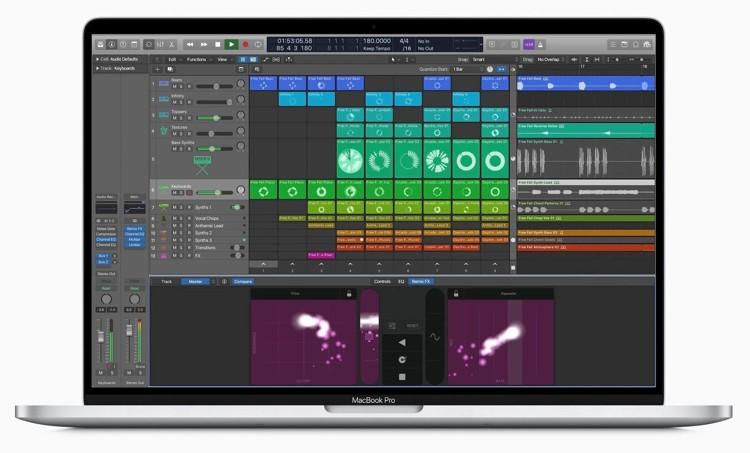 Logic Pro x 2020 Mac Book Pro