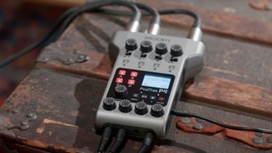 New Zoom PodTrak P4 Podcasting Audio Recorder
