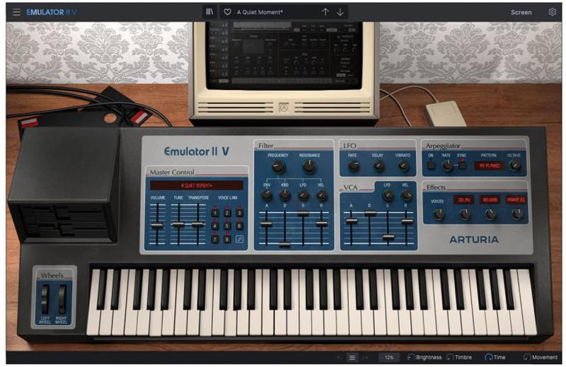 emulator-II V