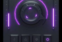 Cymatics Vortex Purple